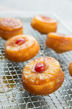 Take an classic American dessert, and add a modern touch by serving it as individually sized cakes. These mini desserts can be made with fresh or canned pineapple!