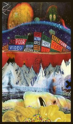 Album Mashup Poster : radiohead