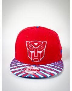 New Era Autobot Zubaz Snapback Hat