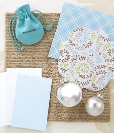 Christmas decorating: Tiffany blue