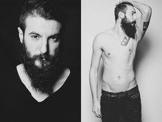 Beard & Tattoos by Ionut Cojocaru - Beard Tattoo, Watercolor Tattoo, Beards, Tattoos, Watercolor Tattoos, Irezumi, Tattoo, Tattoo Illustration, A Tattoo