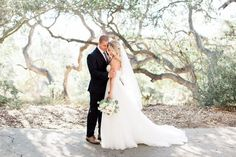 Wedding Photography Inspiration : romantic bride and groom wedding photo idea