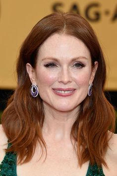 SAG Awards 2015 Hairstyles and Makeup: Julianne Moore  #hairstyles #hair #celebrityhairstyles