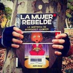 #Bookfacefriday reivindicatico con #LaMujerRebelde, la historia de Margaret Sangler por Peter Bagge. #Bookface