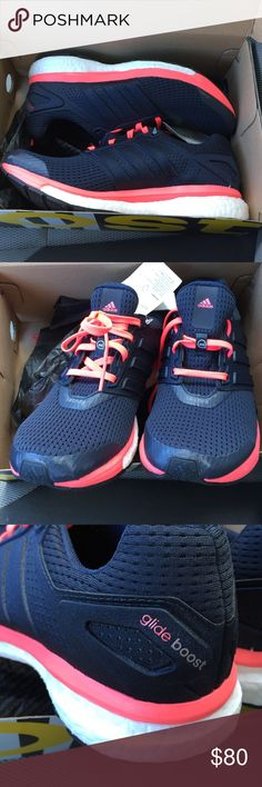 New Size 8.5 Adidas Supernova Glide Boost 7 Shoes New in box Adidas Shoes Athletic Shoes