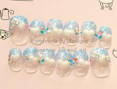 sweet lolita / fairy kei nail art