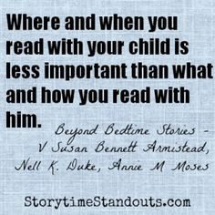 Storytime Standouts answers ten questions about reading aloud to children. #reading #parenting