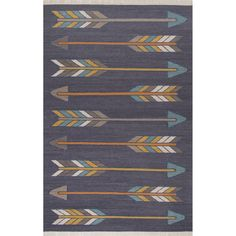The perfect piece for a nursery or office, our Ryland Arrow Rug is casual, contemporary and eclectic. Its easy-going-vibe will bring just the right amount of style to your space.