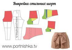Materiales gráficos Gaby: Patrón de pantalón de mujer