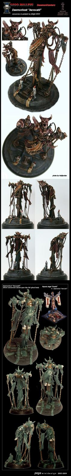 Daemonhost Aevocatii (BRONZE Monsters 40K GD2003 ITALY)