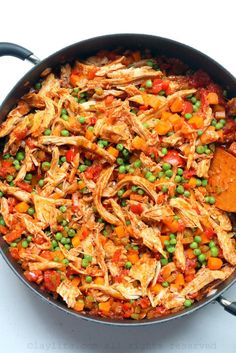 Latin style rice with chicken or turkey {Arroz con pollo o pavo} – Laylita's Recipes Rice Dishes, Tasty Dishes, Food Dishes, Main Dishes, Pollo Recipe, Leftover Turkey Recipes, Colombian Food, Winner Winner Chicken Dinner, Latin Food