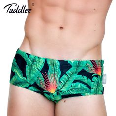 1367cfd5a4aef Taddlee Brand 2017 New Sexy Men Swimwear Gay Swimsuits Swim Briefs Bikini Men's  Swimming Boxer Trunks Surf Board Shorts Batihing-in Men's Trunks from  Sports ...