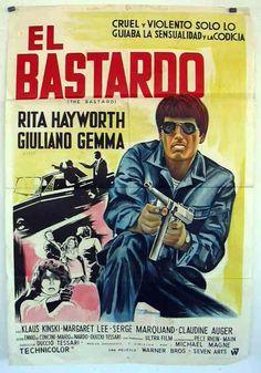 El bastardo 1968, con Giuliano Gemma y Rita Hayworth