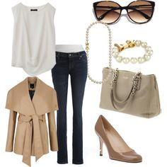 """""""Smart-Casual Fall Look"""" by miss-ayesha on Polyvore"""