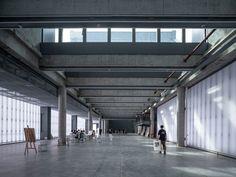 WAA | we architech anonymous, Tian Fangfang · Huangzhou Art school · Divisare Arch Light, Public Realm, Community Space, Entrance Exam, Image 30, Contemporary Architecture, Ground Floor, Art School