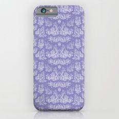 Chevron Toile, Lavender Slim Case iPhone 6s