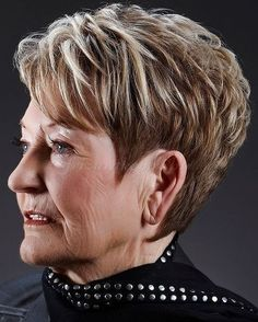 Thick Hairstyles for Short Hair - Haircuts for Women Over 50 - 60 #FatWomenHaircuts