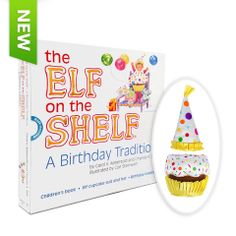 Love this too!!!! Elf on the Shelf: A Birthday Tradition (elf not included) - Santa's Store: The Elf on the Shelf