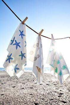Beach House Fabrics (from Bolt House Textiles)
