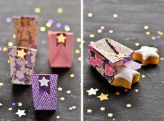 Sachet à bonbons en origami