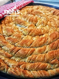Beautiful Cakes, Apple Pie, Feta, Yogurt, Food And Drink, Cooking Recipes, Bread, Desserts, Rage