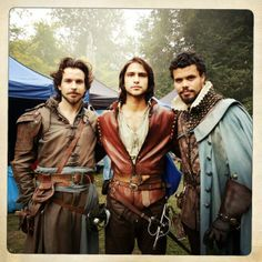 Set photos, we love you! :) - Santiago, Luca & Howard