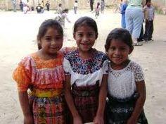 Cute Guatemalan children at school