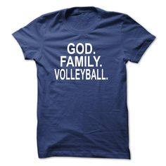 GOD, FAMILY, VOLLEYBALL T Shirt, Hoodie, Sweatshirt