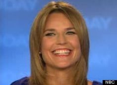 Savannah Guthrie - Love your smile Savannah!  Great on-air personality, funny, self-deprecating and down to Earth.  And did I mention, aside from being a journalist, is an attorney and... a tall glass of water!