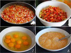 TortillaPapasCebollaPimiento02 Chana Masala, Ethnic Recipes, Food, Vegetarian, Spanish Omelette, Onion, Parsley, Fast Recipes, Healthy