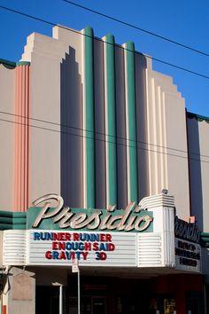 Cinema in Sausalito, next to San Francisco