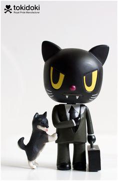 Agent Meow Designer Toy Artist: Tokidoki (Simone Legno) Platform: Royal Pride Manufacturer: Tokidoki Series: Royal Pride - Series 1