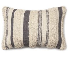 Unique Finds from Big Lots is where you can shop the newest trends and find hidden treasures! Look for fun, new and exciting items you didn't know you needed! Grey Cushions, White Pillows, Stripes Design, Grey Stripes, Big Lots Store, Backless Bar Stools, Pillow Texture, Perfect Pillow, Outdoor Throw Pillows