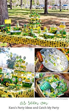 Tractor party  Personalized DIY printable favor by chickabug, $12.00