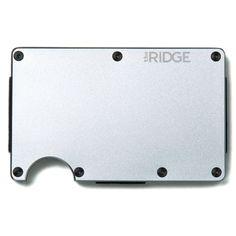 Aluminum Wallet + Cash Strap   Ridge Wallet