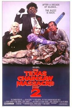 """WEEKEND DRIVE-IN DOUBLE FEATURE! """"The Texas Chainsaw Massacre 2"""" (1986) 