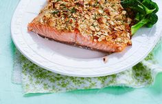 Nut Topping Salmon, Main Dish, Finnish Easter Food, March 2016