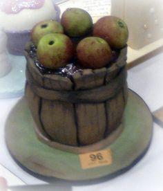 3D Sculpted 'Barrel of Cakes'
