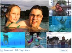 Picture collection of the underwater camera of my little daughter, Leia. http://linkedinsiders.wordpress.com/