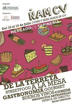 Come y bebe en el Mercado de Tapineria - http://www.valenciablog.com/come-y-bebe-en-el-mercado-de-tapineria/