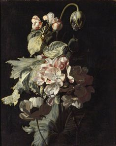 Simon Pietersz Verelst - Still Life of Apple Blossom (ca. 1680–1689)