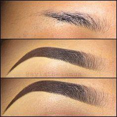 eye brow, eyebrow fillings