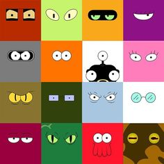 Futurama's gone Minimalist! FULL SET Futurama Minimalist Prints - Geek Gift, Nerd Poster Set by on Etsy Futurama Bender, Fry Futurama, Futurama Tattoo, Futurama Quotes, Futurama Characters, Leela Futurama, Ideas, Frames, Canvases