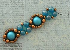 Linda's Crafty Inspirations: Playing with my Beads...Bubble Bands Samples
