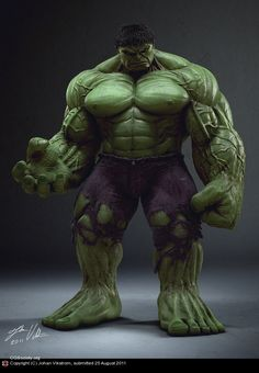 Bruce Banner, a genius scientist with a potential beast inside his body. He was once doing a nuclear experiment in the desert, but a person accidentally walked into the experimental field. Bruce saved the guy from the nuclear shot, but he did not escaped from the Gamma radiation. Thus, the Hulk is formed. The Hulk comes out when his heart beat reaches 200, and being angry seems the easiest way to become the Hulk.