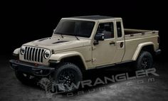 Marchionne confirms Jeep Wrangler pickup is coming in late 2019