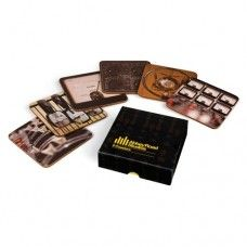 Abbey Road Studios Coasters $29.95 - A unique set of coasters showcasing the beauty of the Abbey Road Studios. Perfect gift for music lovers.