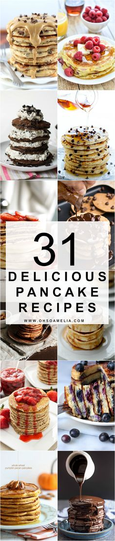 31 Delicious Pancake Recipes
