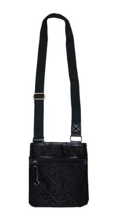 b4ddc68d1f02 Tommy Hilfiger Women Logo Cross Body Bag Handbag Black     Continue to the  product