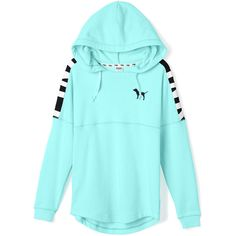 Victoria's Secret Varsity Hoodie,black ($50) ❤ liked on Polyvore featuring tops, hoodies, shirts, sweaters, jackets, oversized black hoodie, oversized hoodie, oversized hoodies, sweatshirt hoodies and hooded pullover